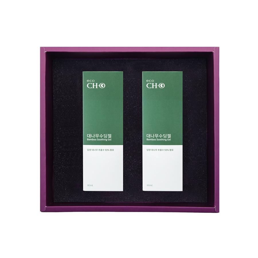 청화팜 청화에코 3세트 - 청화 대나무 수딩젤(80ml) 2종
