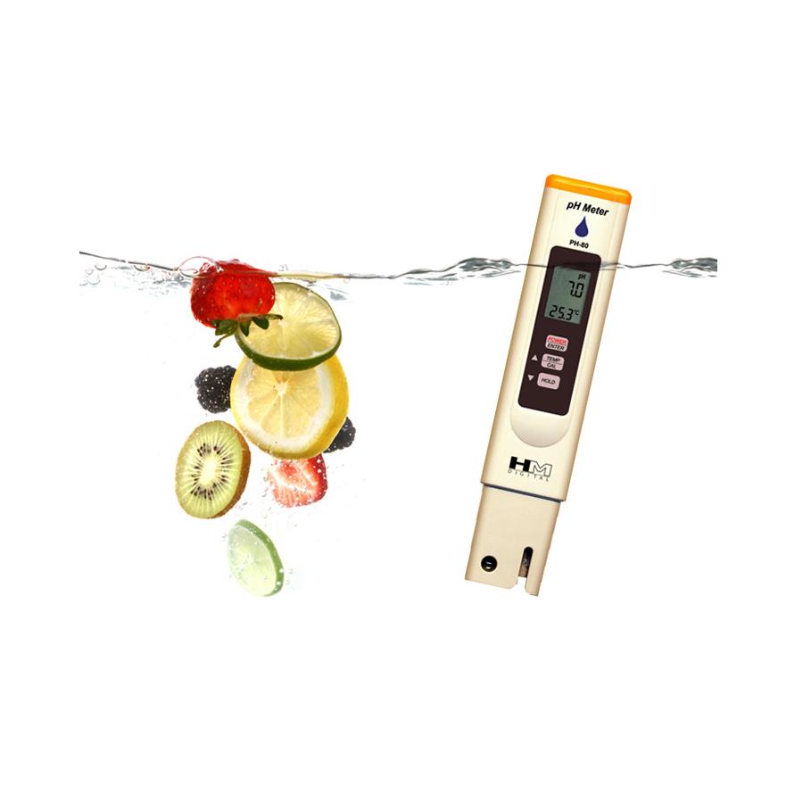 휴대용 디지털PH수질측정기 PH-80 온도계