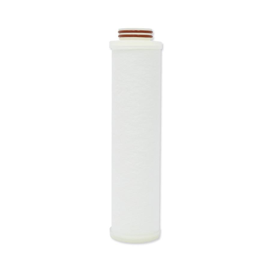 필터테크-세상의 모든 필터 유기용제용 BDM 멜트블로운 뎁스 필터 250mm 100um 222o-ring/Flat(Silicone) BDM meltblown depth filter 250mm 100micron 222o-ring/Flat (Silicone) for Organic solvents