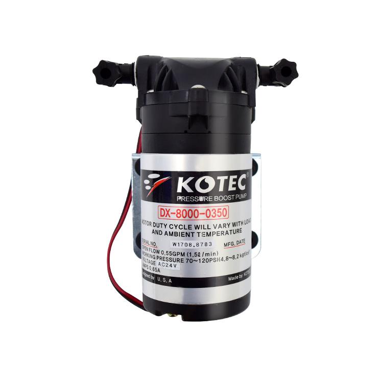 필터테크-세상의 모든 필터 코텍 부스터펌프 DX-8000-0350 AC24V 1.5L/min 펌프 +아답터 kotec pump DX-8000-0350 AC24V 0.85A 1.5L/min