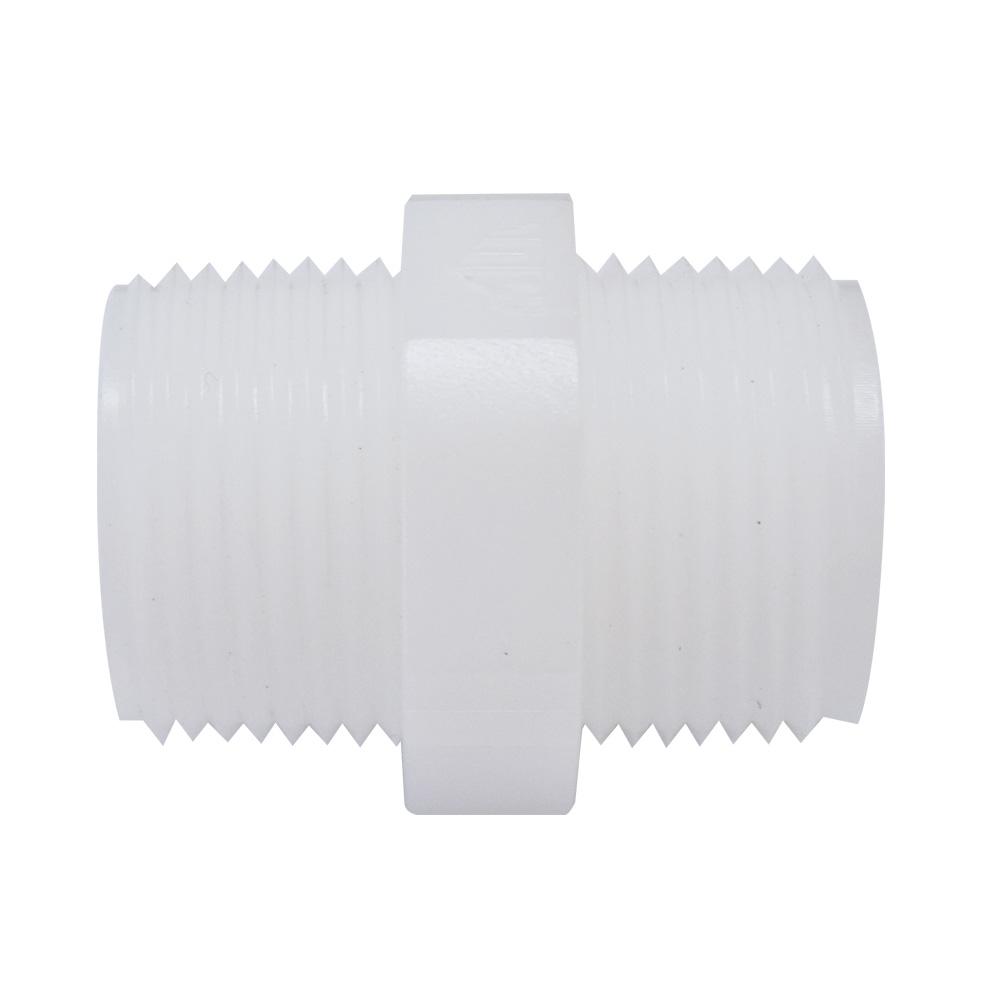 하우징연결부품 플라스틱 니플 3/4(25mm) 나사형