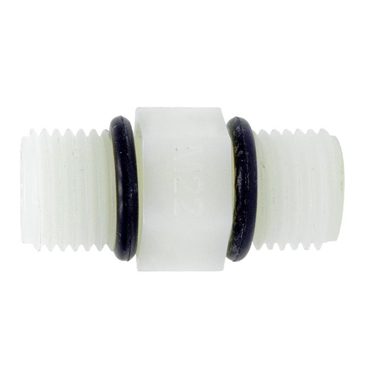 하우징연결부품 플라스틱 니플 1/4(12mm) 나사형