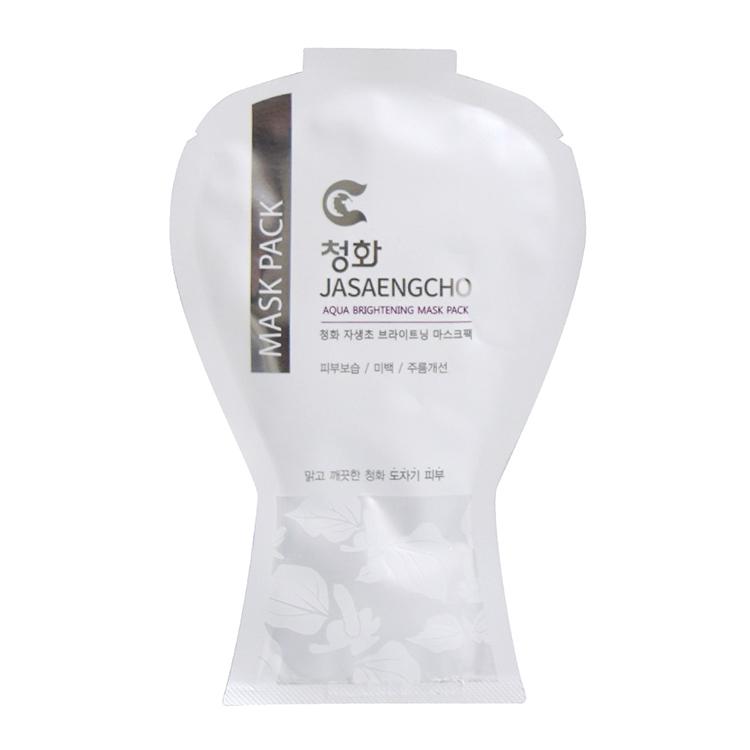 청화팜 청화 제생초 마스크팩 (1팩) - 수분팩 미백팩