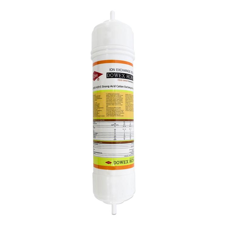 DOW HCR-S 양이온교환수지 필터(피팅형)