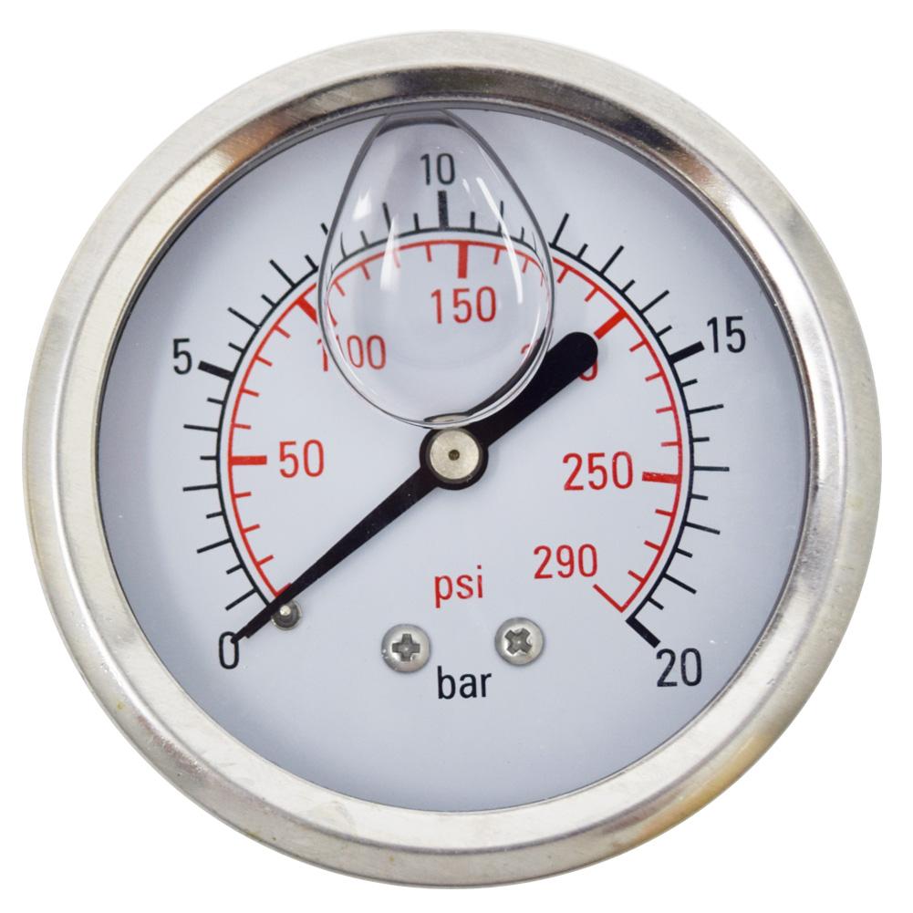 오일충만식 압력계 판넬식 직경62 0~20kgf/㎠ 8A(1/4)