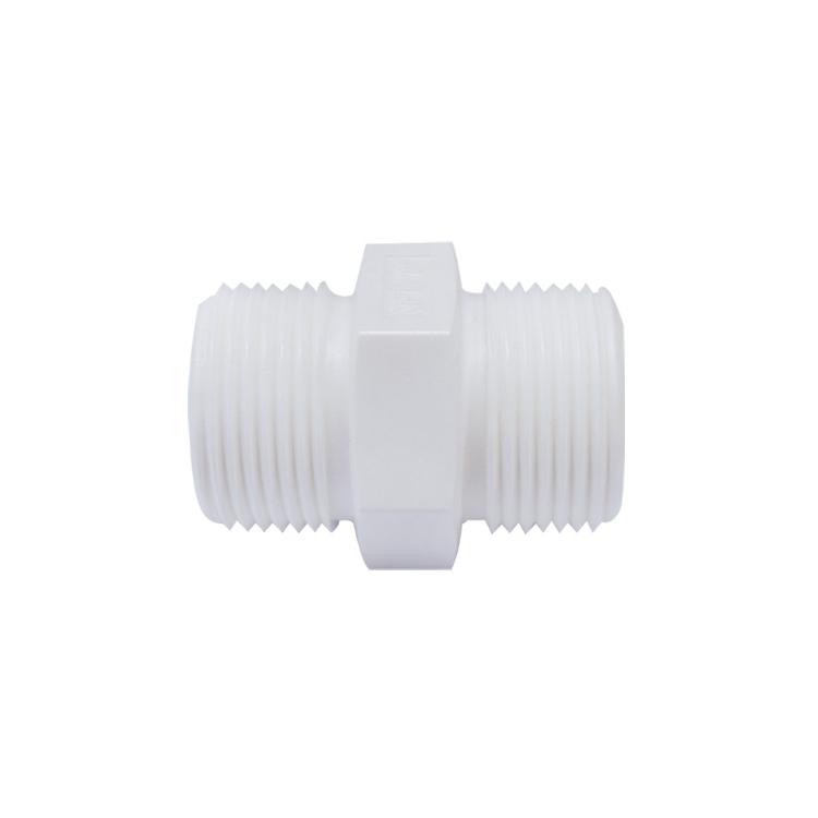 하우징연결부품 플라스틱 니플 1 나사형 - 에어,오일,워터용