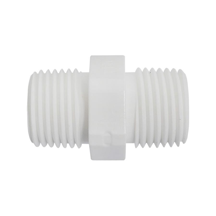 하우징연결부품 플라스틱 니플 1/2 나사형 - 에어,오일,워터용