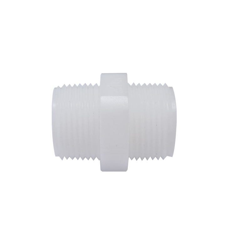 하우징연결부품 플라스틱 니플 3/4 나사형 - 에어,오일,워터용