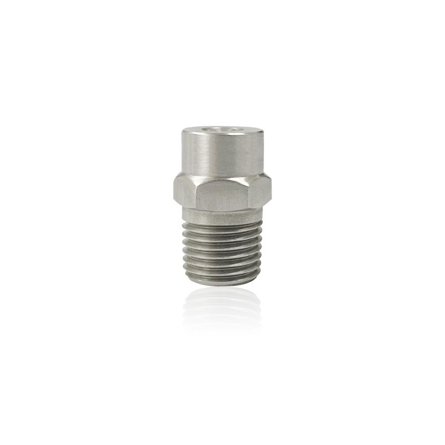 FLMN-FC14BSP28W15S4 할로우 풀콘 스프레이 노즐 1/4BSP 120도 스테인리스 - 식품가공공장 생산라인 거품제거용