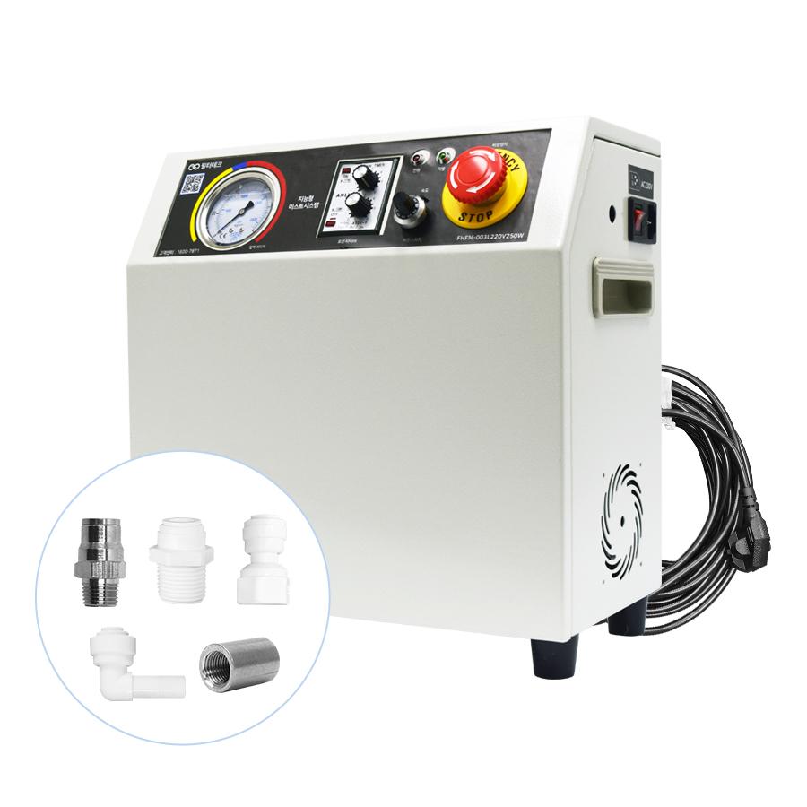FHFM-003L220V250W(MPXB003LT)쿨링포그시스템 방역시스템 고압 포그머신 펌프 (압력55bar, 0.3L/min) -분사노즐 고압 펌프/포그노즐 고압 압력펌프 자동컨트롤러 자동제어반 방역펌프 방역장치 방역게이트 방역노즐용 제어반