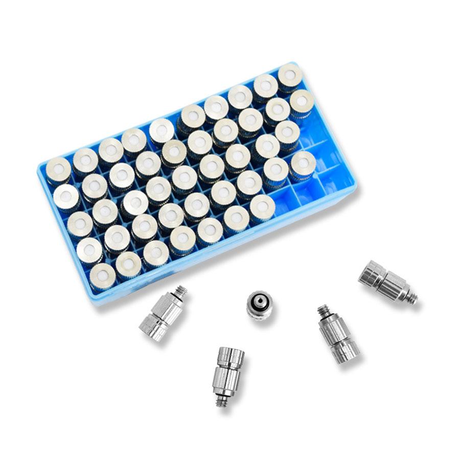 FHMN-1024BC 10/24 0.1~0.5mm BRASS + 세라믹 박스 - 쿨링포그시스템/가습/방역/고압 미스트노즐 분사노즐/포그노즐/안개노즐/냉각노즐/미세먼지저감노즐/폭염저감노즐