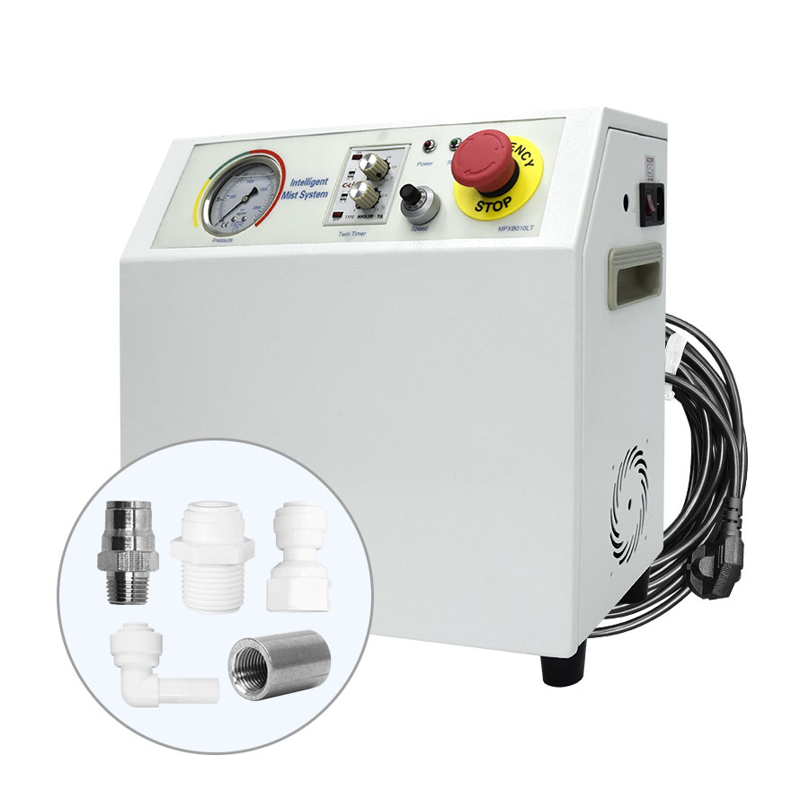 FHMP-0102202P (MPXB010LT)쿨링포그시스템 방역시스템 고압 포그머신 펌프 (압력60bar, 1.0L/min) - 분사노즐 고압 펌프/포그노즐 고압 압력펌프 자동컨트롤러 자동제어반 방역펌프 방역장치 방역게이트 방역노즐용 제어반