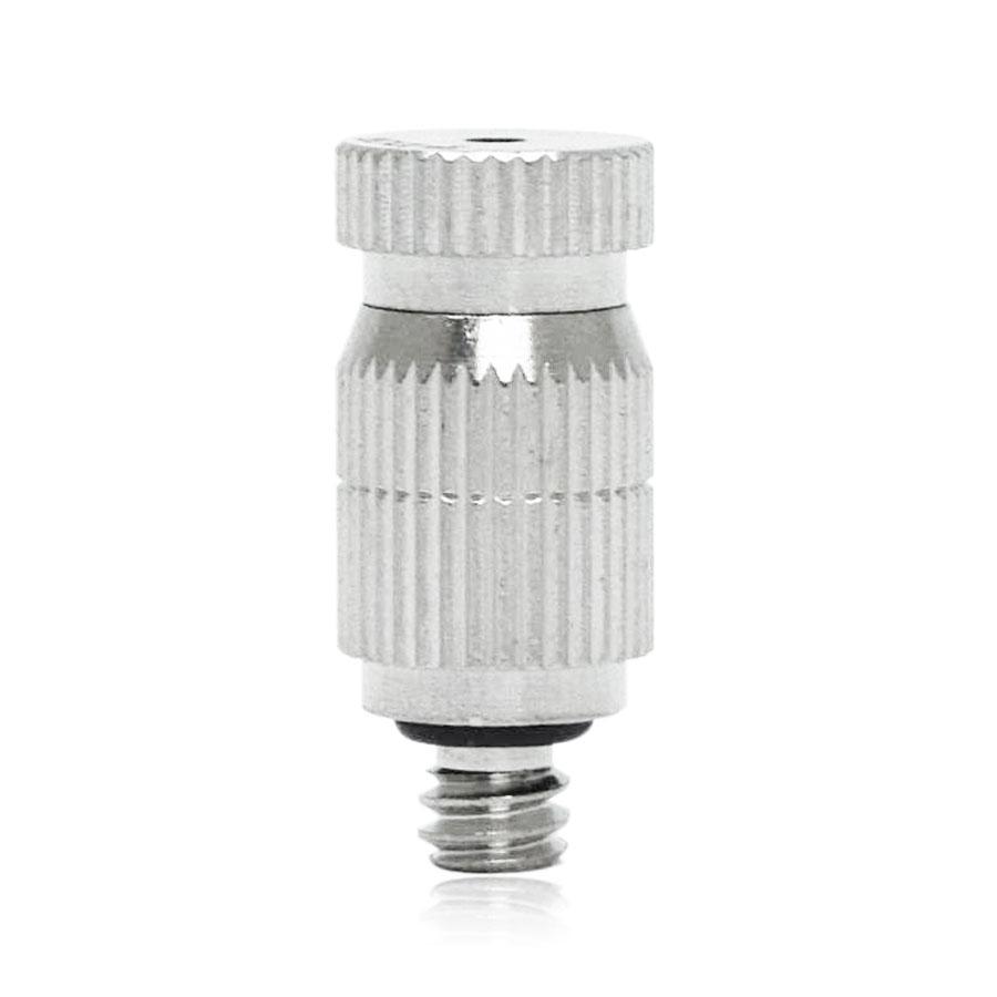 FDN-1024 드레인노즐 저압용 황동(크롬도금) 10/24인치 - 실내방역/실내가습용/유압조절