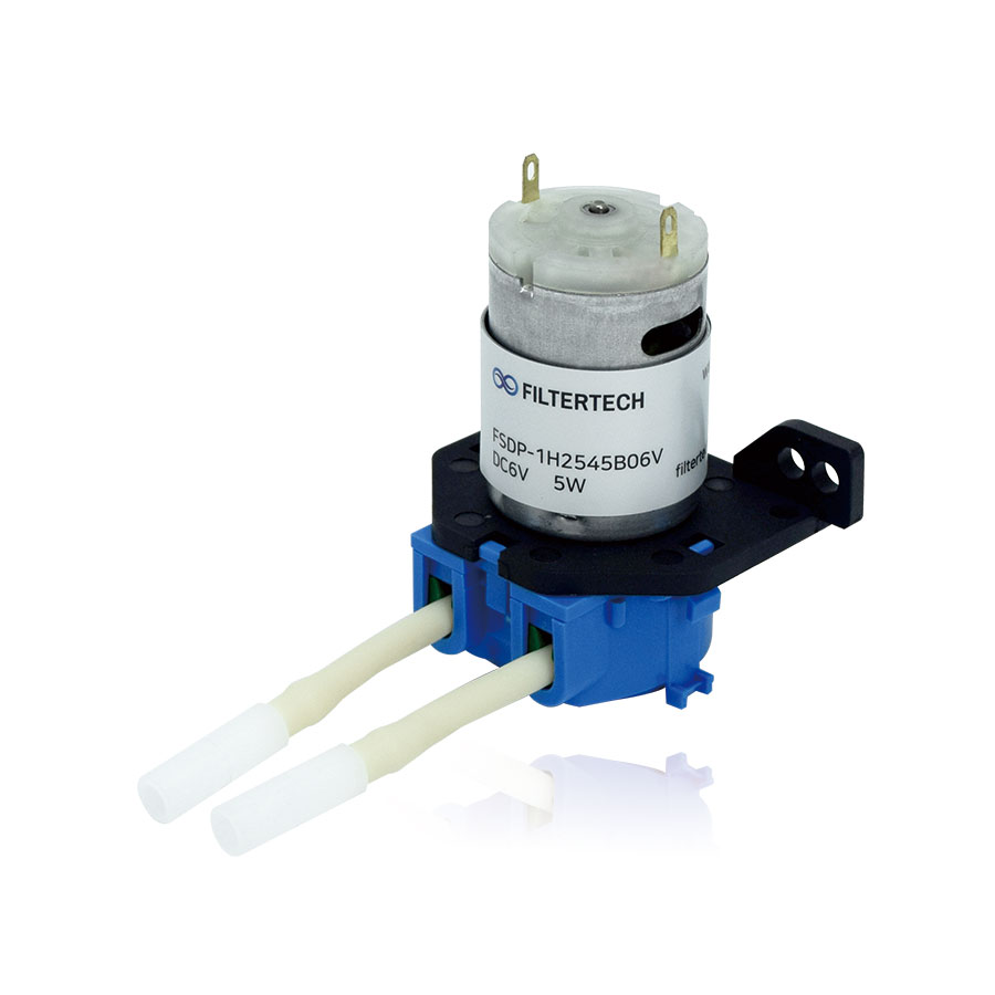 FSDP-1H2545B06V 석션정량펌프 1헤드 DC6V 전자식 무압 포그노즐 전용 - 실내방역/실내가습용