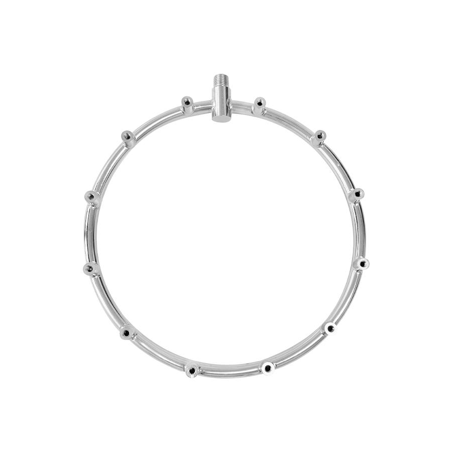 필터테크-세상의 모든 필터 FHFR-121024TW 쿨링포그시스템 고압용 황동(크롬도금)70BAR 12구 포그링 1/4:10/24(12) FHFR-121024TW 12-hole fogring 1/24:10/24(12)