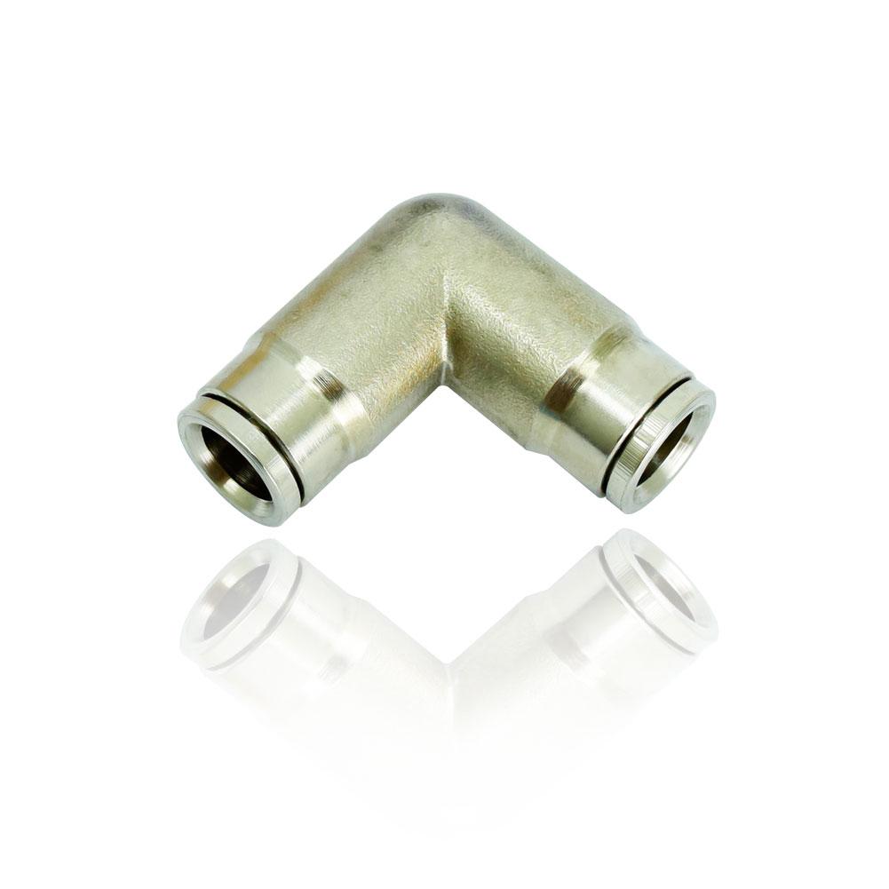 FN-6202 슬립락 L타입 3/8:3/8 - 쿨링포그시스템/방역용 황동(크롬도금) 70BAR 이퀄엘보