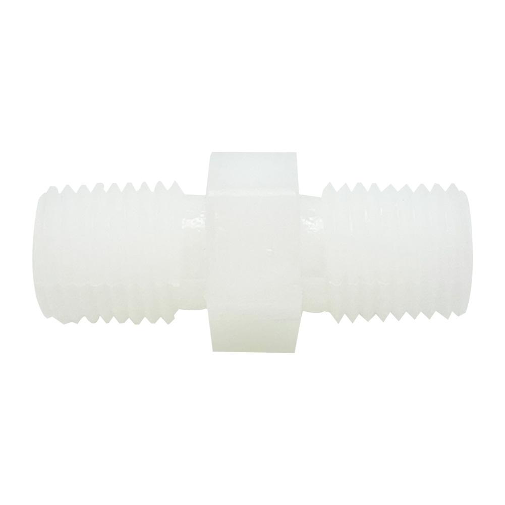 하우징연결부품 플라스틱 니플 1/4 나사형 - 에어,오일,워터용