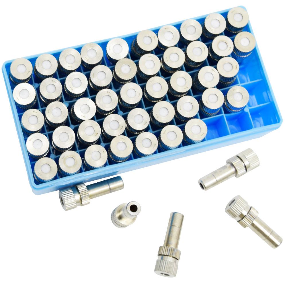 FLMN-1406BC 1/4 0.6mm BRASS + 세라믹 박스 - 쿨링포그시스템/가습/방역/고압/저압겸용 미스트노즐 분사노즐/포그노즐/안개노즐/냉각노즐/미세먼지저감노즐/폭염저감노즐