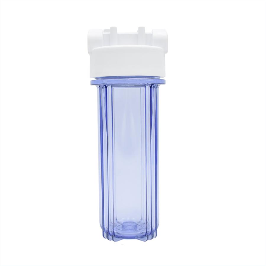 [FH-2O25012] 플라스틱 카트리지 투명하우징 250mm 1/2(15A)-투오링 완벽 누수방지