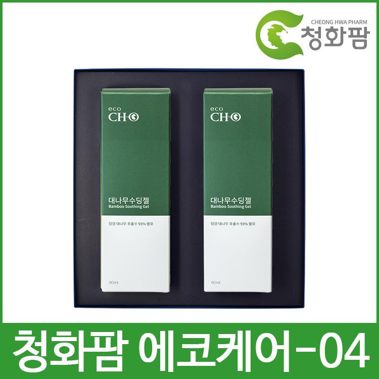 청화팜 에코케어 세트 04 - 대나무 수딩젤 2개