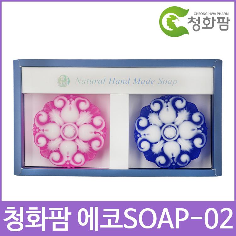 청화팜 에코 soap 세트 02 - 아로마비누 2구