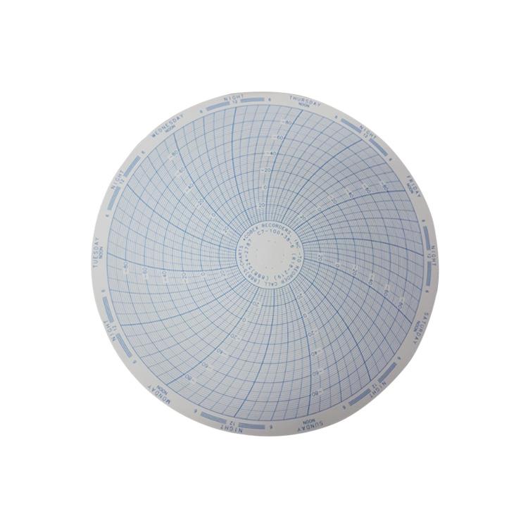 코벡스 가스압력원형기록지 NO.C7-100+38-6/W7-100+38-6(157¢)500매