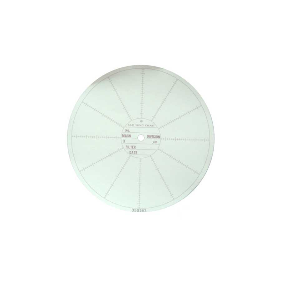 코벡스 5-CHART 가스압력원형기록지 NO.C6282-224 153¢ (100매)