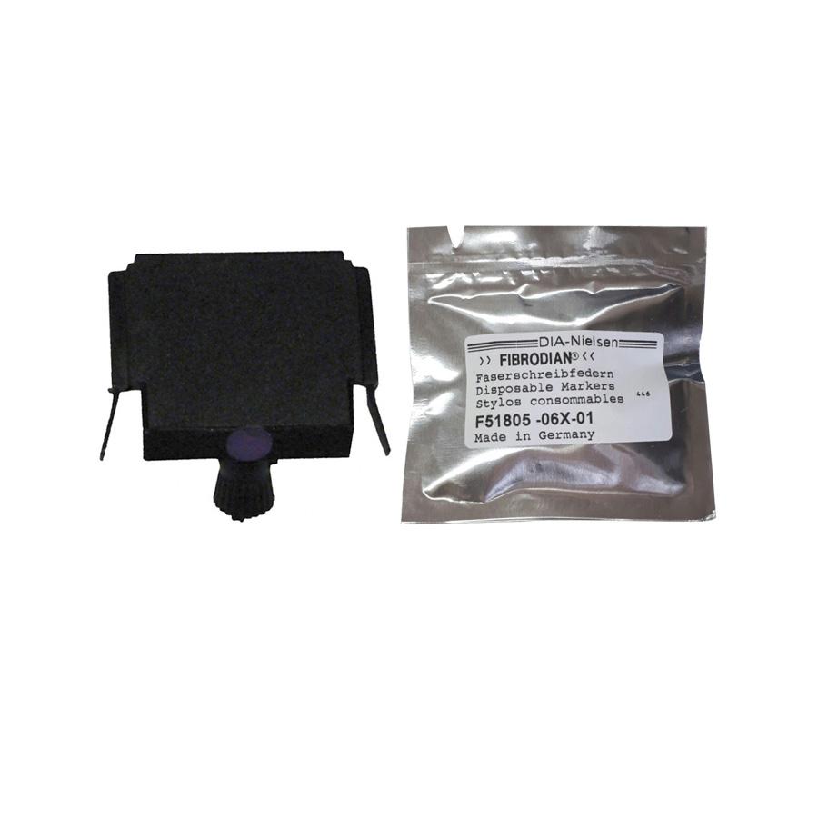 요꼬가와 R1000,R1800용 기록펜 NO.F51805-06X-01 PLOTER (VIOLET)