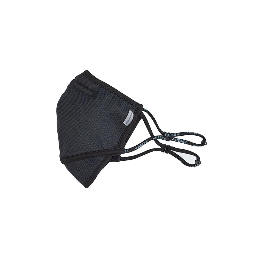 엘디엑스 ENSILL FRESH PLUS 항균마스크 BLACK(중형) - 패션마스크