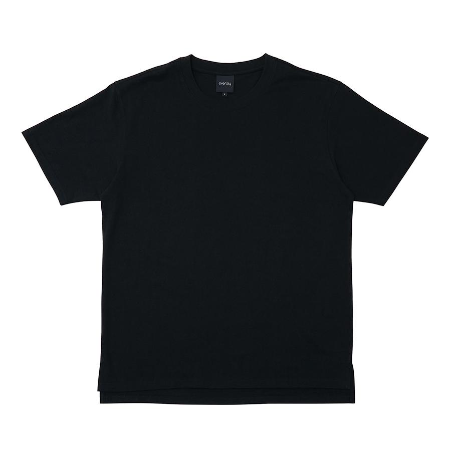 엘디엑스 ENSILL FRESH LAYERED 항균 COTTON 티셔츠 BLACK_L