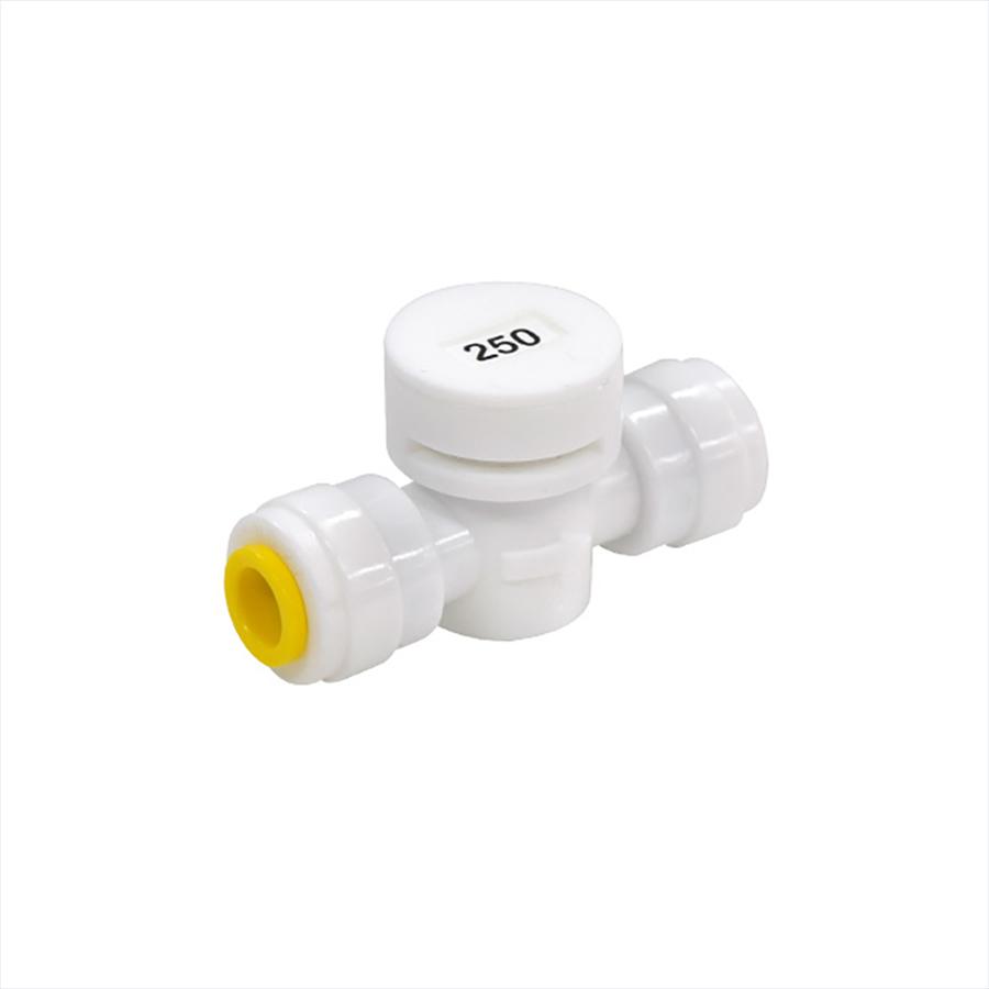 폐수저항피팅 FR-250 1/4:1/4 250ml 정수기부품