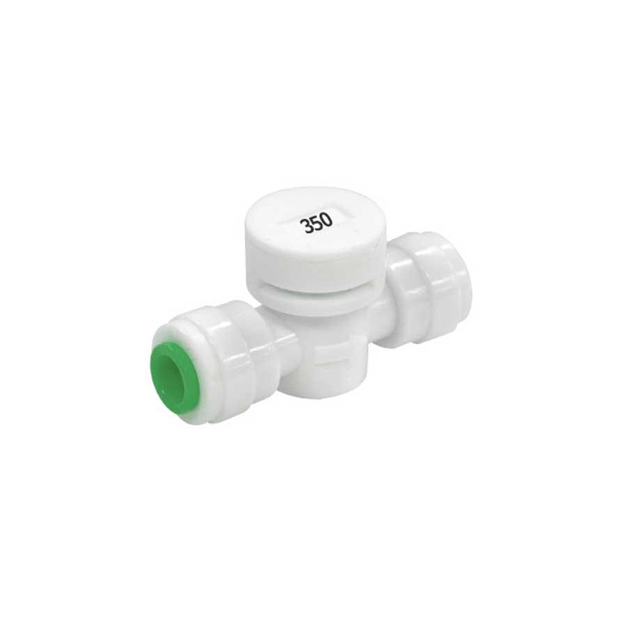 폐수저항피팅 FR-350 1/4:1/4 350ml 정수기부품