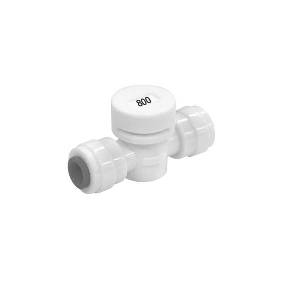 폐수저항피팅 FR-800 1/4:1/4 800ml 정수기부품