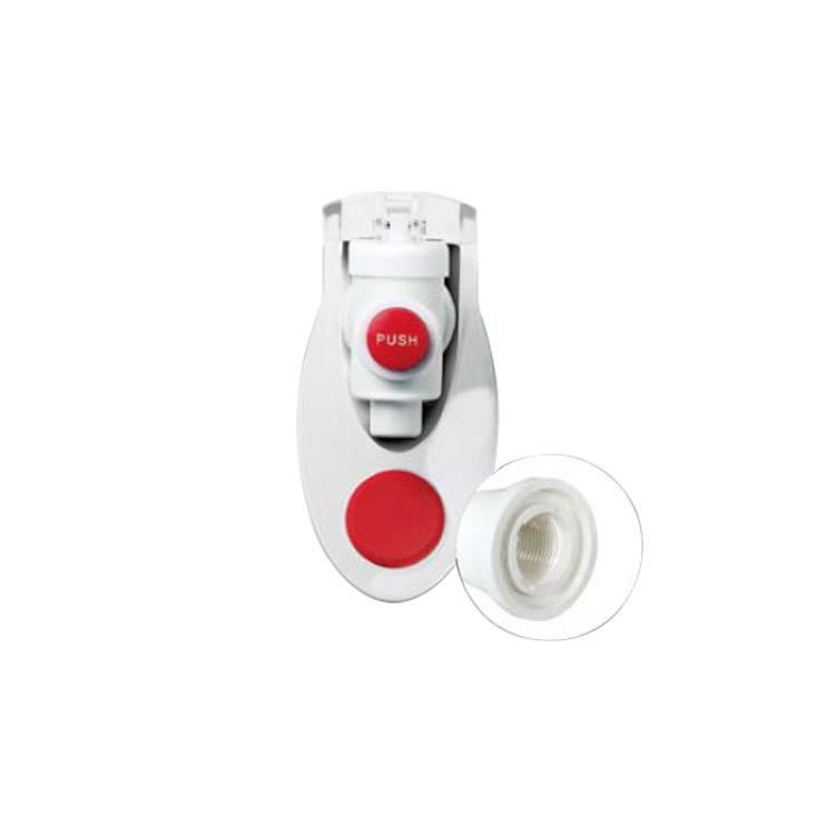 온수안전코크 암나사 라운드레버 SCK-CLR-FE