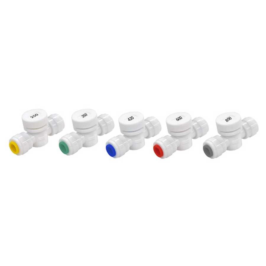 폐수저항 flow restrictor FR시리즈 정수기부품 모음전