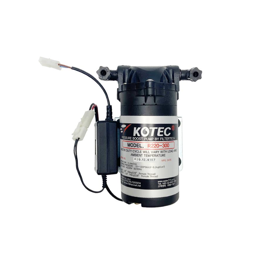 코텍 부스터펌프 R220-300(22R-3005) AC220V 4L/min