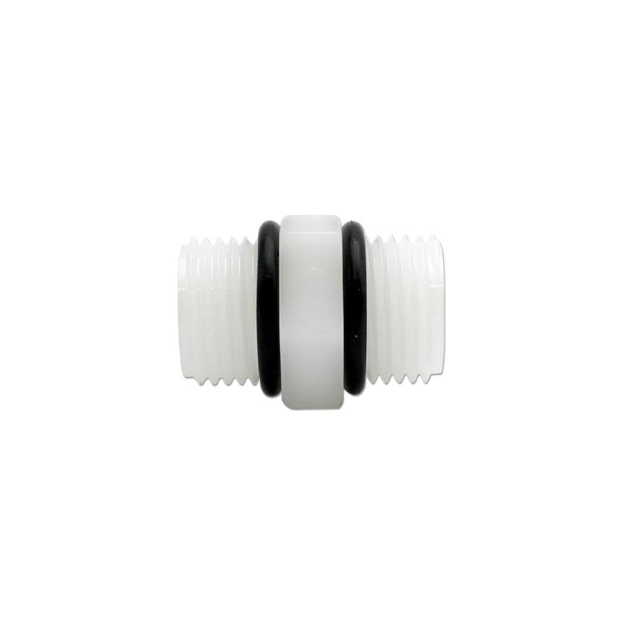 하우징연결부품 니플 1/2(오링있음) 나사형 - 에어,오일,워터용