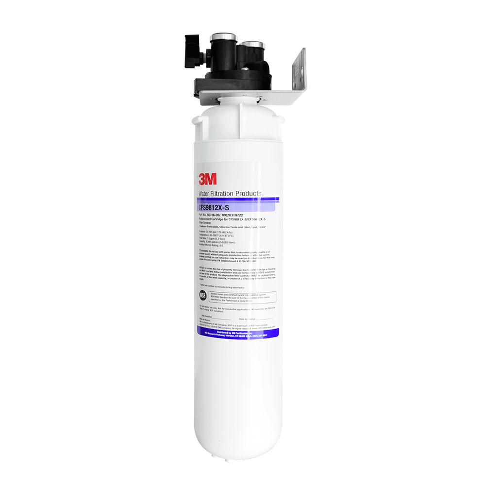3M 정수기 CFS9812X-S 언더씽크정수기 업소용/제빙기용/커피머신용(에버퓨어MH2 호환)
