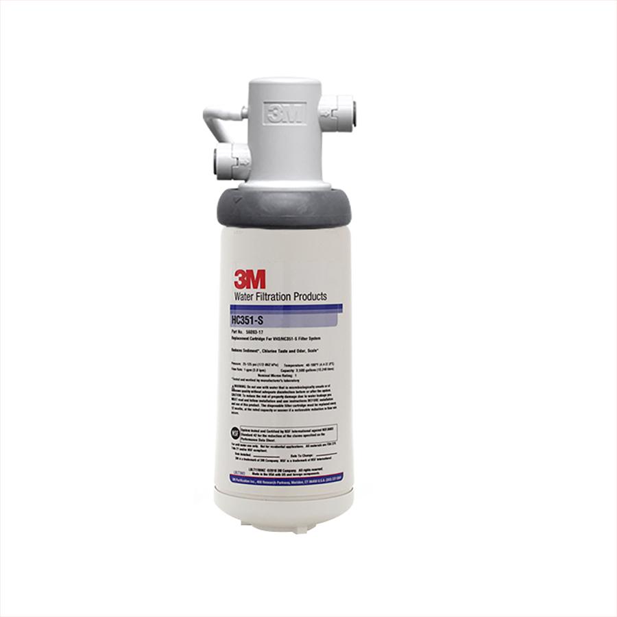 3M 정수기 HC351-S 언더씽크정수기 업소용/제빙기용/커피머신용
