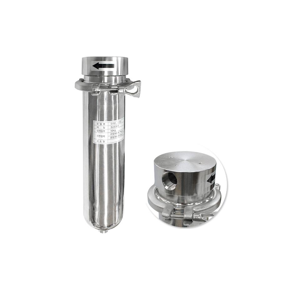 [SH10-3/4-C-1S1] SUS하우징 스테인레스하우징 신형 클램프 250mm 3/4(20A)