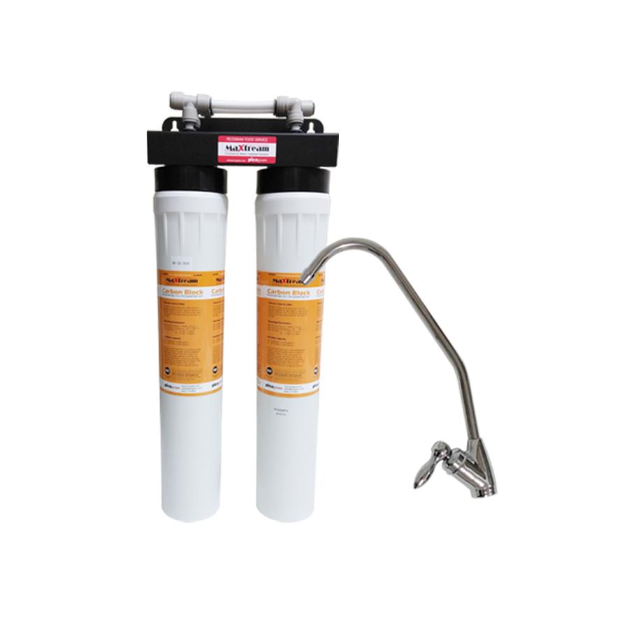 [Z]업소용 직수형 언더싱크 커피머신용 제빙기용 정수기 맥스트림 20인치 2단 MX-CB-2020 스케일제거