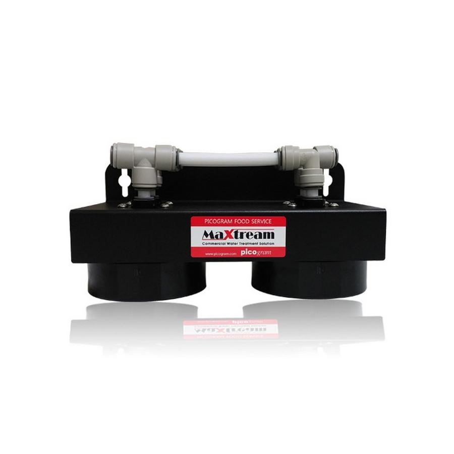 업소용 직수형 언더싱크 커피머신용 제빙기용 정수기 맥스트림 헤드 2단 MX-UPH-20