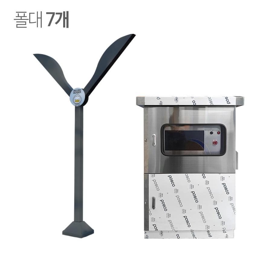 쿨링포그시스템(증발냉방장치) 온·습도제어용 FCCN-56 Y형