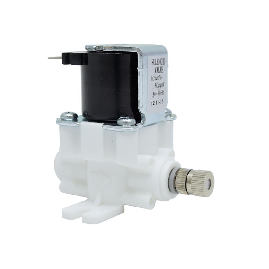 고압 솔레노이드 밸브 HSV-CHA-220V, 스프레이 분사노즐 1/4스템형 (노즐구멍 사이즈 선택)