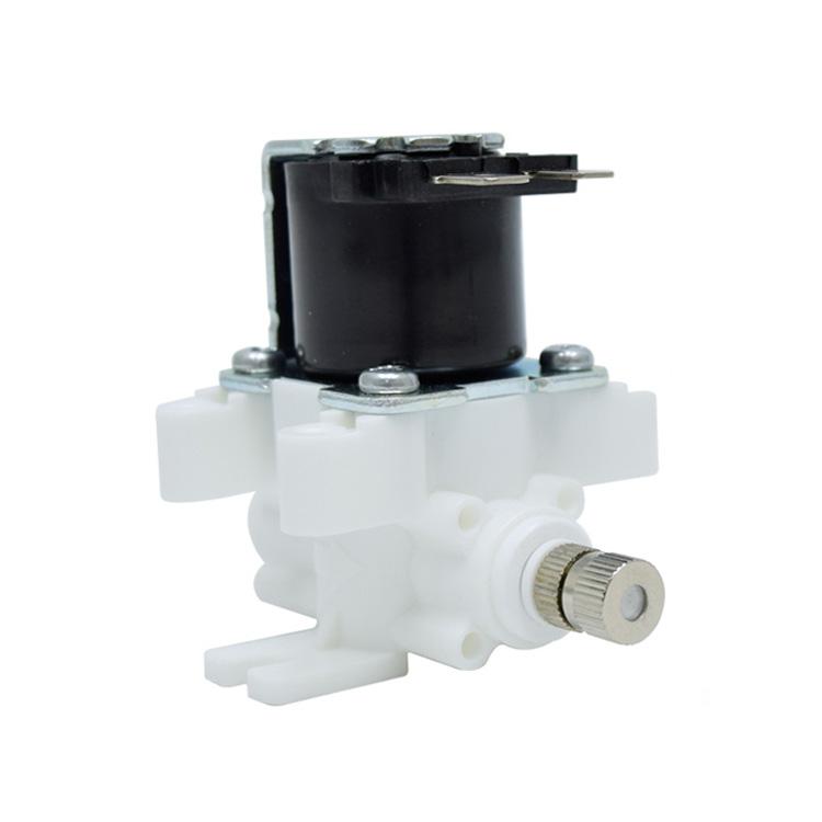 고압 솔레노이드 밸브 HSV-CHB, 스프레이 분사노즐 1/4스템형 (노즐구멍 사이즈 선택)