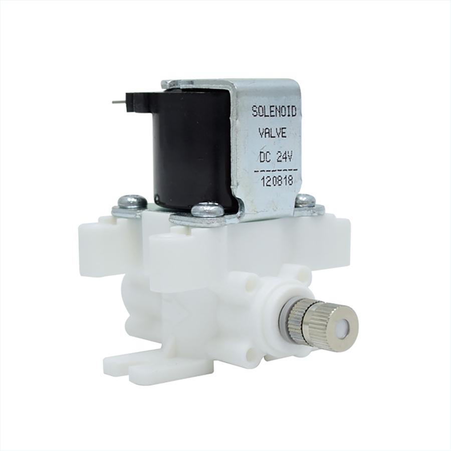 고압 솔레노이드 밸브 HSV-CHB-24V, 스프레이 분사노즐 1/4스템형 (노즐구멍 사이즈 선택)