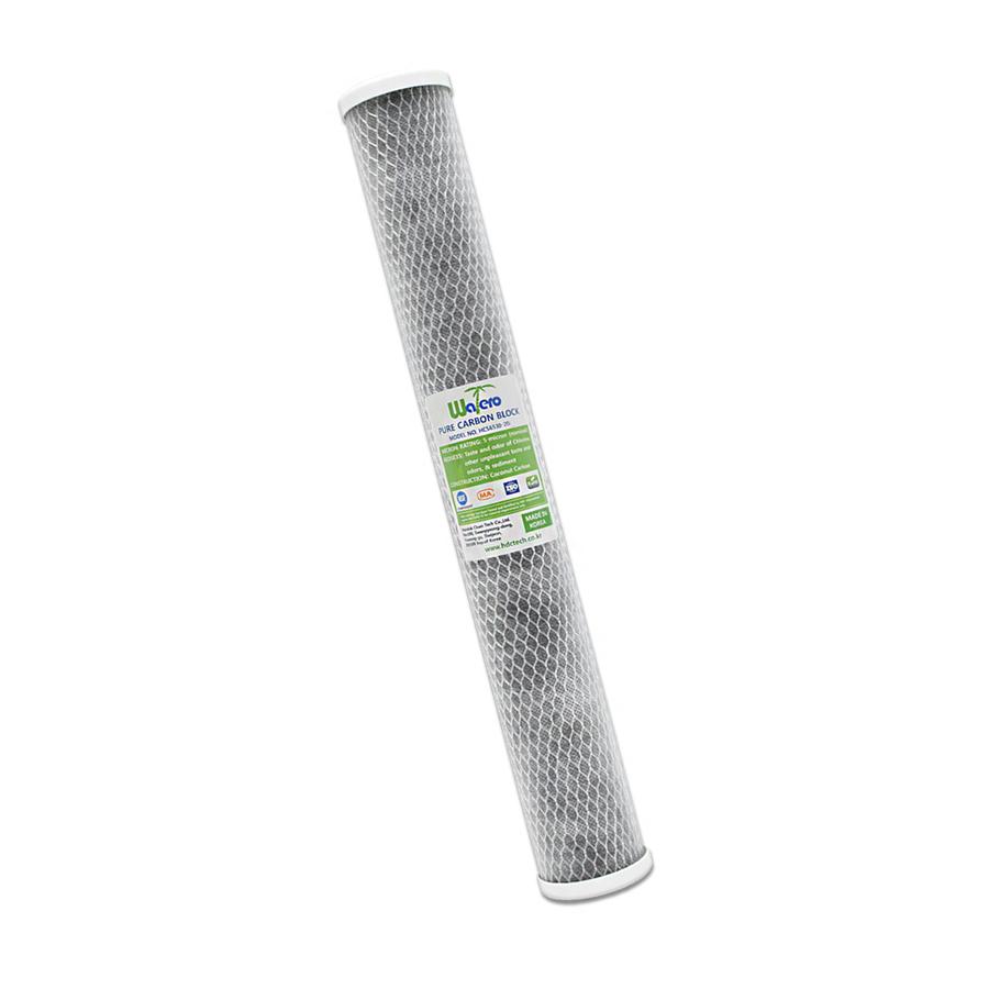 WATERO 산업용필터 HCS6530-20C 언더씽크 카본블럭필터 500mm (20인치) 5마이크론 은파우더첨가 항균작용