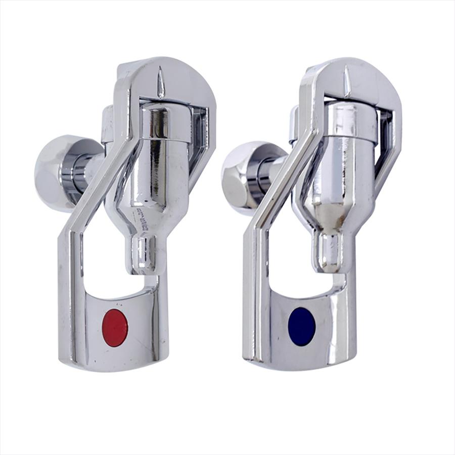 [Z]정수기코크 사각레바 금속 냉온수코크 암나사 20mm - 급식용 직수정수기/산업용 직수정수기/급수용품