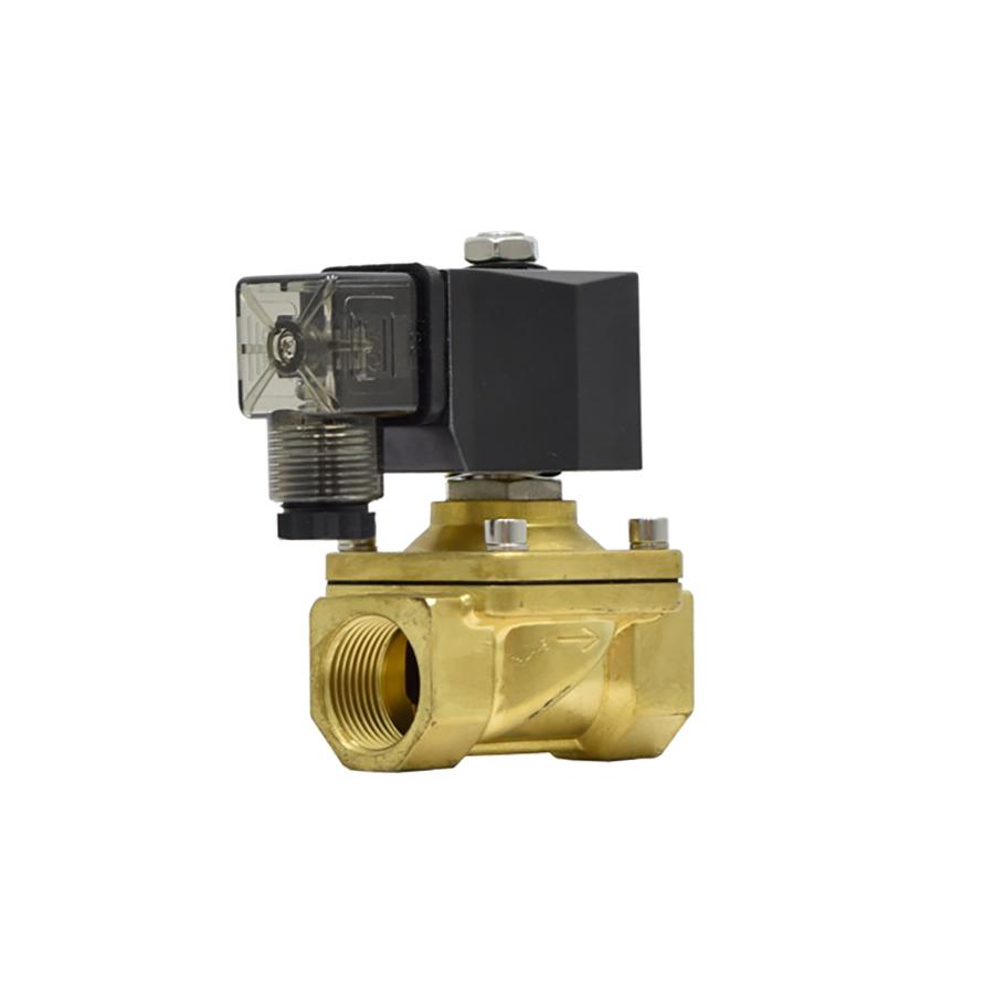 솔레노이드밸브 PU-20(DN20) 규격3/4인치 N.C 황동,SUS재질 솔밸브 물,기체,기름