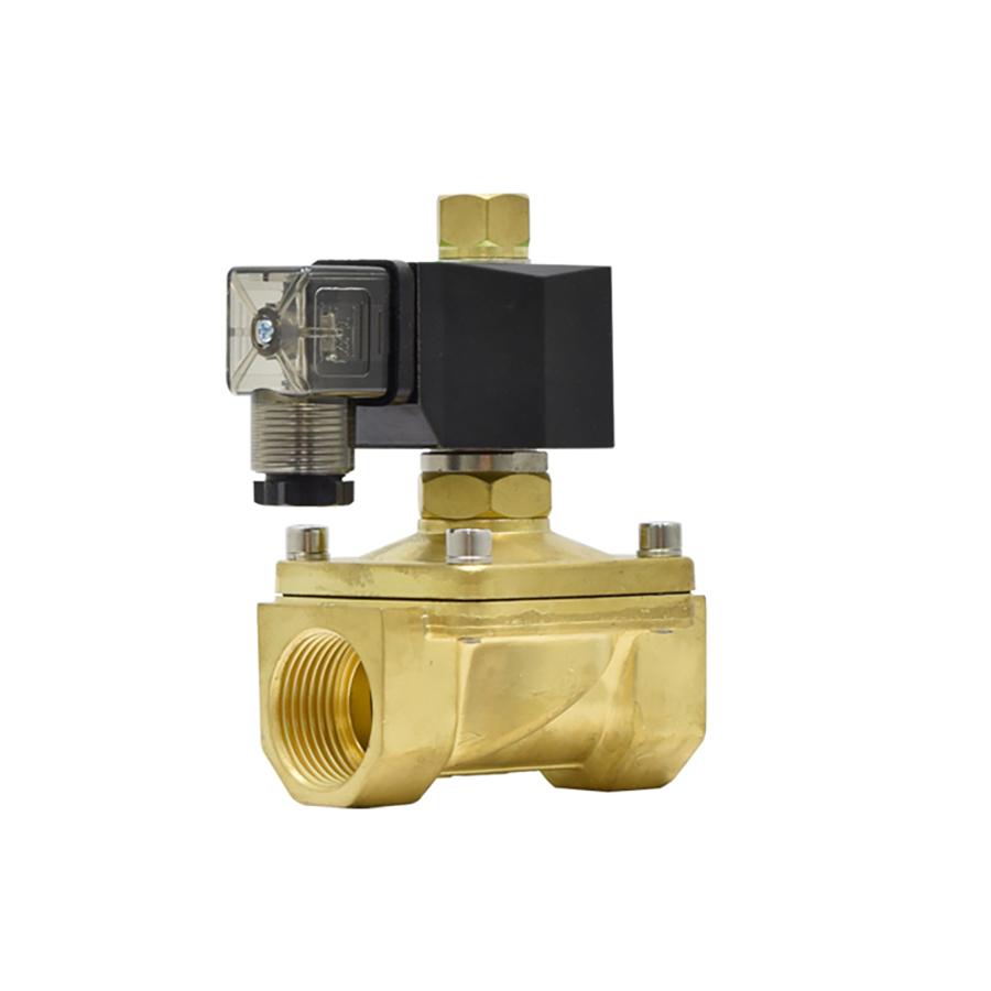 솔레노이드밸브 PU-25K(DN25) 규격1인치 N.O 황동,SUS재질 솔밸브 물,기체,기름